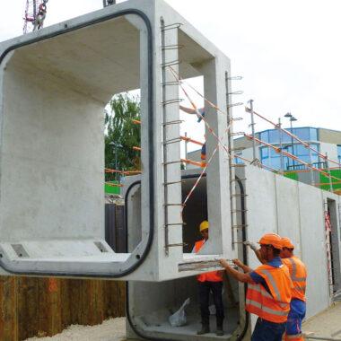 Produits béton SNCF avec options